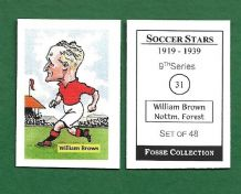 Nottingham Forest William Brown 31 (FC)